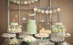baby shower CANDY BAR for twins boy and girl | Inside Peek at Molly Mesnick's Baby Shower! | The Bump Blog ...