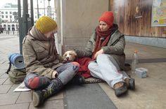 homeless Judith Rakers