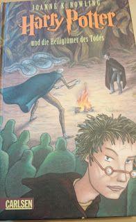 Beauty, Fashion, Literatur und Inspirationen: [Rezension] J.K. Rowling - Harry Potter und die Heiligtümer des Todes