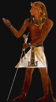 Thutmosis I. He married into the royal family and fathered Hatsheput and Thutmosis II.