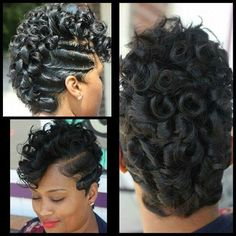 4 Natural Hair Breakage Treatment Tips - Hair Styles Short Curls, Short Hair Cuts, My Hairstyle, Girl Hairstyles, Black Hairstyles, Curly Haircuts, Spiky Hairstyles, Hairstyles Pictures, Updo