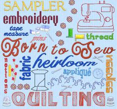 word cloud using embroidery software