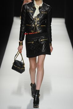Moschino | Quilted leather jacket | NET-A-PORTER.COM