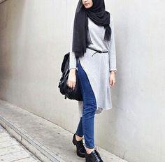 รูปภาพ hijab, ootd, and hijabootd