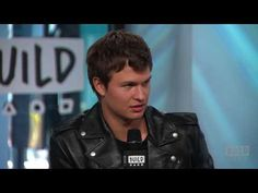 """BUILD Series: Ansel Elgort & Edgar Wright On """"Baby Driver"""""""