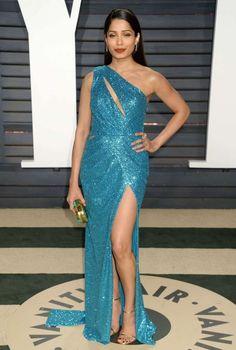 Freida Pinto - 2017 Vanity Fair Oscar Party in Hollywood