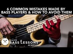 6 Common Mistakes Made by Bass Players and How to Avoid Them (L#169) | SBL Academy