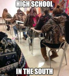 This is literally how my school used to be lol