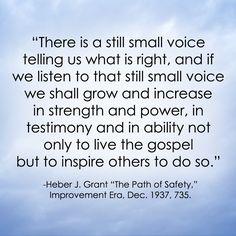 LDS Quote   Heber J. Grant http://sprinklesonmyicecream.blogspot.com/