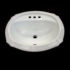 THIS IS THE ONE!  Acri-Tec - Scalloped Drop-In Basin in White - 367840 - Home Depot Canada