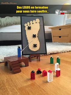 C'est officiel, les legos sont nos ennemis ! - Be-troll - vidéos humour, actualité insolite