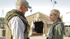 NCIS: Gibbs saves Bishop while on a rescue mission in Afghanistan.