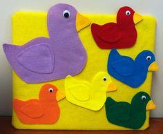 Flannel Friday: Five Little Ducks