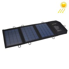 [$27.19] 10.5W 2.1A Max 2 Output Ports Portable Folding Solar Panel Charger Bag for Samsung / HTC / Nokia / Mobile Phones / Other Devices