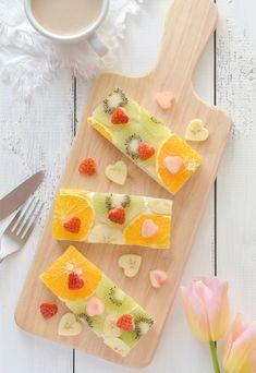 バレンタインにハートがいっぱいフルーツオープンサンドの作り方 Good Food, Fun Food, Afternoon Tea, Toast, Ice Cream, Fancy, Fruit, Cooking, Simple