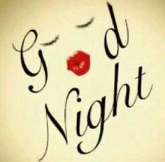 Goodnight everyone! Xx