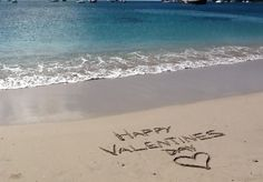 get great quality pics of your personal message written in the sand on this picturesque island beach! for just $5!