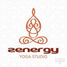 Exclusive Customizable Logo For Sale: zen yoga studio logo   StockLogos.com