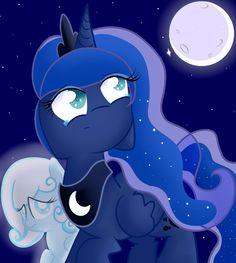 mlp princess luna and snowdrop