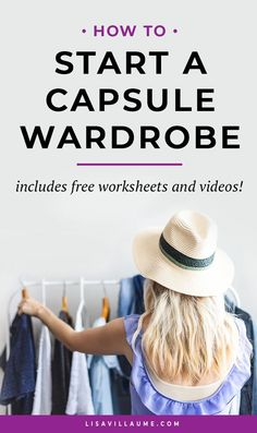 Want to start a Capsule Wardrobe? Check out these actionable tips to create outfits, declutter your wardrobe and always have something to wear. Casual Attire For Women, Business Casual Attire, Professional Attire, Capsule Wardrobe Work, Office Wardrobe, Office Outfits, Minimalist Wardrobe, Minimalist Fashion, Business Formal Women