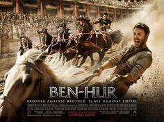 Ben-Hur - 2016 Épica historia de Judah Ben-Hur, un príncipe falsamente acusado de traición por su hermano adoptivo Messala, tribuno del ejército romano.