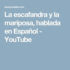 La escafandra y la mariposa, hablada en Español - YouTube