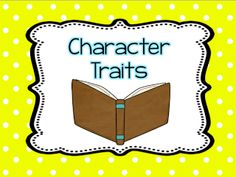 Books That Teach - Character Trait