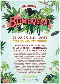 Bomboclat Festival 2017  #Afrobeats #BomboclatFestival #BomboclatFestival2017 #Dancehall #Reggae #summerfestival #ZeebruggeBeach
