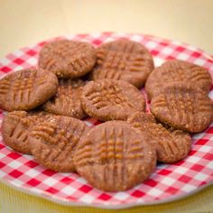 Healthy no bake peanut butter cookies with only 3 ingredients!