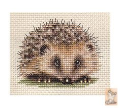 Cross Stitch Hedgehog 1 of 2