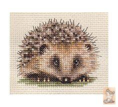 Cross Stitch Hedgehog 1 of 2