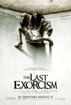 the last exorcism, movie poster