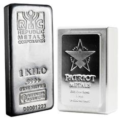 1 Kilo Silver Bar from JM Bullion™ Silver Bars, Precious Metals, Conditioner, Delivery, Mint, American, Free, Peppermint