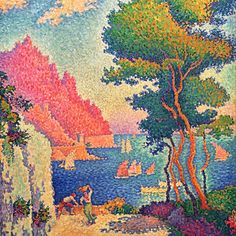 Close-Up Paul Signac - The Magic of Colour 1898. | AboutART