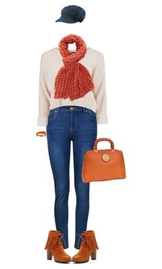 """Bulky Scarf"" by polylana ❤ liked on Polyvore featuring Ally Fashion, Charlotte Russe, Dasein, Bucco and Bling Jewelry"