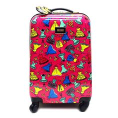 "Betsey Johnson 20"" Belle Of The Ball Small Carry-On Roller Luggage"