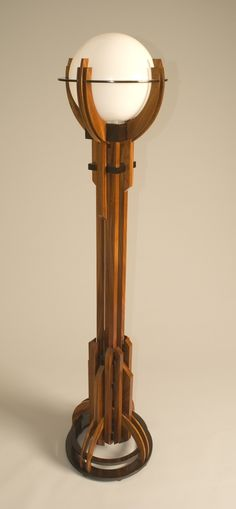 Craftsman Style Floor Lamp by joeharley