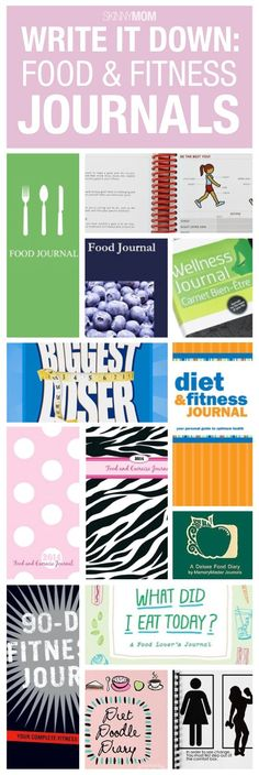 Food and fitness journals to help you on your health journey