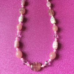 My shop is now back open following my break with new items inc this necklace £4.99 juliedeeleyjewellery.com