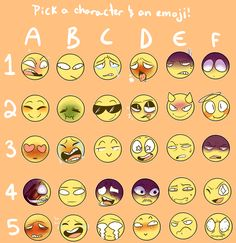 "paradoxproductions: "" I saw a lot of people make these emoji memes and I wanted to make one myself. I take requests, so feel free to send me a character and a face and I'll draw it! if you'd like to use this, please just reblog it! do not repost it! ..."