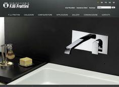 Il nuovo sito www.frattini.it è online da poche settimane, ma ha già riscosso feedback positivi per la semplicità di utilizzo e la ricchezza di contenuti. Riprogettato da zero con nuove sezioni e servizi dedicati in esclusiva ai clienti dell'azienda, il nuovo sito di Rubinetterie Fratelli Frattini si candida a diventare un punto di riferimento per gli operatori del settore e non solo.