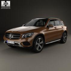 Glc Mercedes Benz Glc Class 3D Model - 3D Model