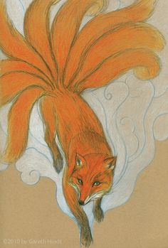 Kitsune - Mythical Creatures Guide