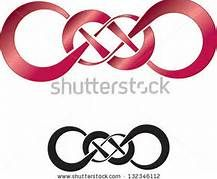 Very cool double infinity tattoo design