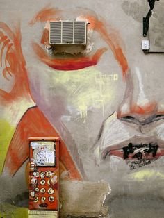 Graffiti and utilities unite in this scene from Granada, Spain. - API study abroad student Danica Wixom, via Flickr