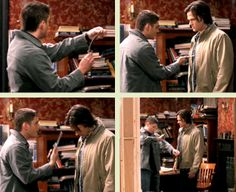 [GIFSET] 6x15 The French Mistake #FakeProps #SamJumps