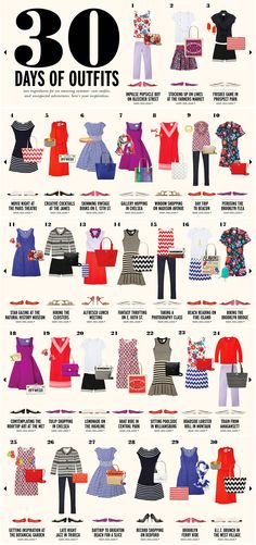 30 Days of Kate Spade outfits   Perfect Summer wardrobe capsule
