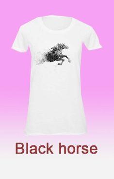 Unikornis egyedi női pólók neked  Lovas női póló   Lovas női pólók   loveliness   d84a08642b