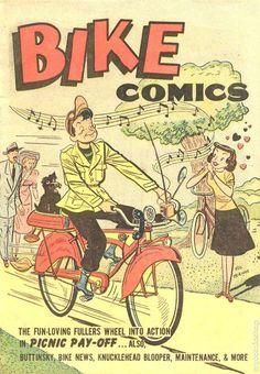 Bike comics.