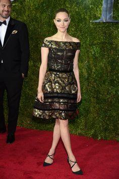 Pin for Later: Seht alle Stars in ihren glamourösen Outfits bei den Tony Awards Amanda Seyfried